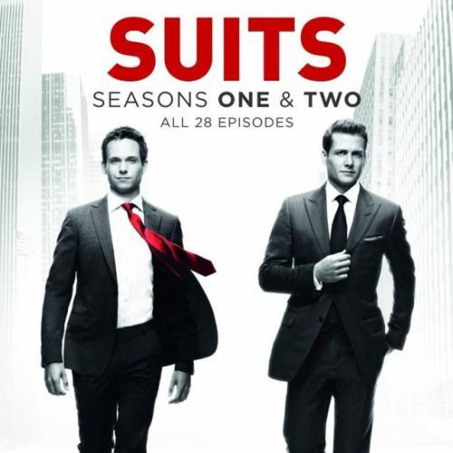 Suits Season 1 and 2 £11.52 @ eBay / Moogle's Bookshelf