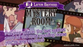 Layton Brothers Mystery Room FREE on iOS