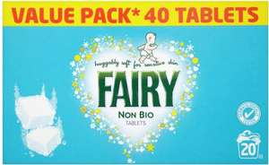 Fairy Non Bio Tablets - FREE one wash sample @ Supersavvyme