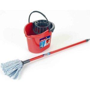 Kids Vileda mop set - Mop and Bucket Was £10.00 Now £4.25 with code @ Debenhams online