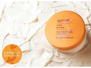 Free Sanctuary Spa Body Butter 100ml