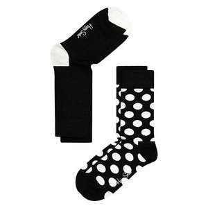 Happy Socks Dot Socks, Pack of 2, Black/White. £3.50 at John Lewis
