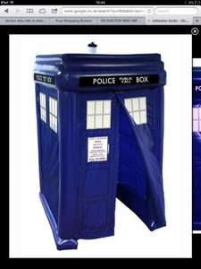 Inflatable Tardis £23.24 inc £1.99 delivery @ The Works