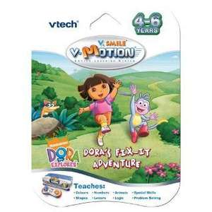 VTech V.Smile V-Motion Dora the Explorer - Dora's Fix-It Adventure was £19.97 now £3.26 @ Tesco Direct