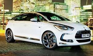 Free test drive on Citroen DS5 for 24 hours
