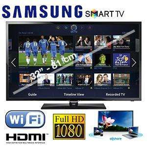 "Samsung 32"" 32F5300 SMART SERIES 5 Full HD (1080p) LED-TV With Built- in Wi Fi ... £249.95 (+£9.95 Delivery) @ iBOOD.COM"