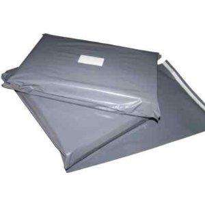 "100x Grey Mailing Courier Postal Bags - 6"" x 9"" £2.90 Delivered @ ebay carrierbagsolutions"