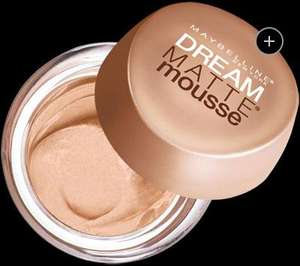 Maybelline Dream Matte Mousse Foundation - 2 for £7.50 @ Superdrug