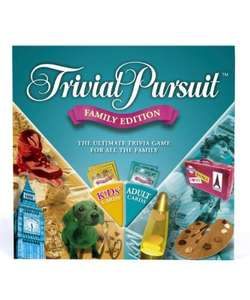 Trivial Pursuit Family Edition Board Game £11.99 del to store @ Mothercare