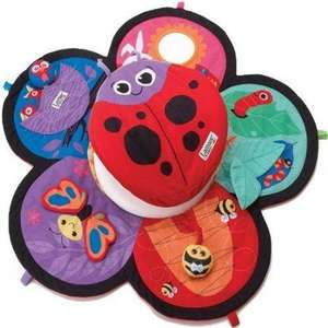 Lamaze Spin and Explore Garden Gym (Baby Tummy Spinner Mat) on Amazon, free delivery. RRP £32.99. Only 16.88