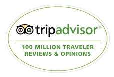 Complimentary bumper magnet for you - from Trip Advisor