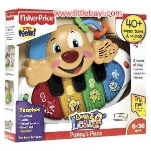 Fisher Price Laugh and Learn Puppy's Piano £5.59 @ Mothercare