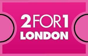 2FOR1 OFFERS AT LONDON ATTRACTIONS WHEN YOU GO BY TRAIN