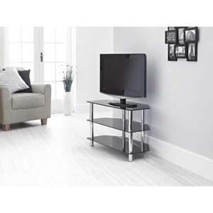 Glass TV Stand at Wilkinsons £35