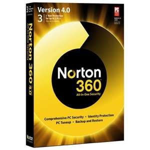 Norton 360 v4.0 at Currys/PC World, only £4.97