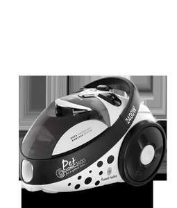 Russell Hobbs Pet Cyclonic Bagless Vacuum for Homes with Pets £49.99 Delievred@Russell Hobbs Online