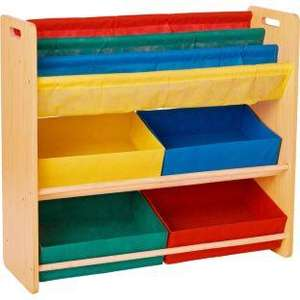 Children's Toy Storage and Bookcase Unit. £16.99 from £34.99 at Argos