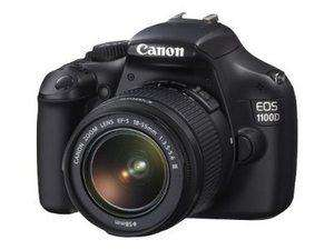 Canon EOS 1100D Digital SLR Camera + 18-55mm DC Lens (Refurbished) EBAY CANON OUTLET - £174.99 + £2.95 POSTAGE