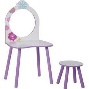 Cute Girls Room Flowers Dressing Table & Stool was £44.99 now £16.99 @ Argos