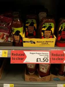 Levi Roots Reggae Reggae Sauce (£1.50) and Tomato Ketchup (£1.24) both 490g Squeezy - Instore at Morrisons