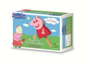 Peppa Pig ice cream lollies x6 Was £2 now £1 @Tesco Instore &Online