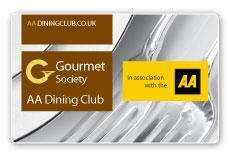 £1 for 12 Months Gourmet Society Card Membership for AA Gold Members