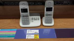 Gigaset E310A twin digital phone with answerphone £14.91 @ Currys