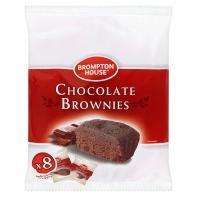 Brompton House Choc Brownies (8pk) £1 @ Asda