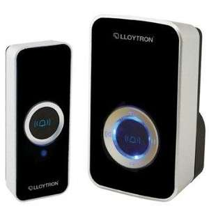 Lloytron B7501BK Wireless Mains Plug-In Door Chime £6.60 delivered @ amazon