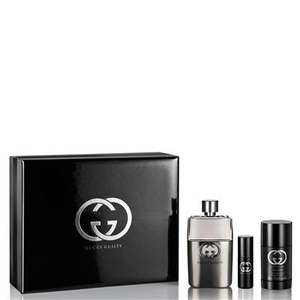 Gucci Guilty Pour Homme Eau De Toilette 90ml Gift Set for him £39.99 @ The Fragrance Shop