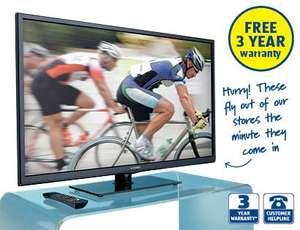 "40"" FULL HD 1080p LED TV with Freeview £289.99 @ Aldi from Thurs 11th"