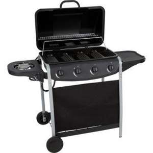 4 Burner Gas BBQ with Side Burner @ Argos £89.99