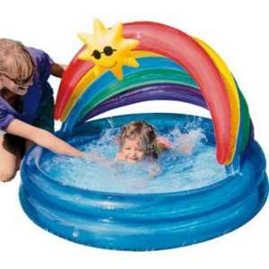 Chad Valley Sunshine Baby Pool less than half price now £5.99 R&C @ Argos (suitable for sand too)