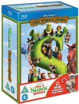 Shrek - The Whole Story Blu-Ray £9.39 @DVDSource