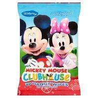 Mickey Mouse baby wipes 2p for 80 wipes on Asda online!
