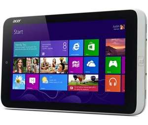 "Acer W3 The first Windows 8 8"" Tablet Inc Office Home/Student £285 @ RM"