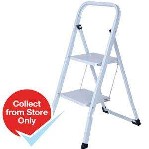 2-Step Folding Ladder £7.99 INSTORE @ Home Bargains