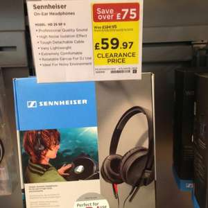 Sennheiser HD 25 SP II - £59.97 at Currys (nationwide?)