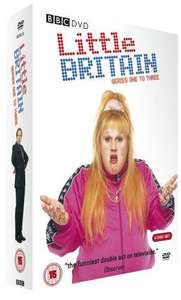 Little Britain: Series 1-3 Box Set [DVD] £5.52 @ Amazon (via direct_offers_uk)