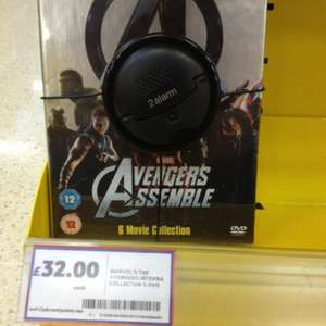 Avengers assemble 6 film collection £32 instore at Tesco (The Avengers, The Incredible Hulk, Iron Man 1, Iron Man 2, Thor And Captain America)