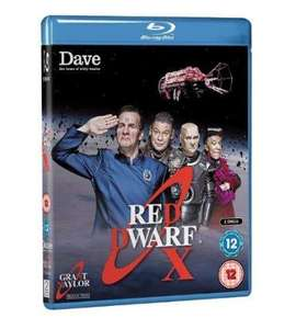 Red Dwarf X (Blu-ray) £9 @ Amazon.co.uk
