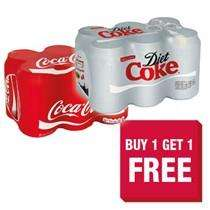 12x330ml coca cola cans for £3.85 @ Scotmid