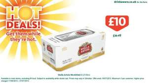 Stella Artois - 18 440ml cans £10.00 @ Morrisons (Offer ends this Sunday)