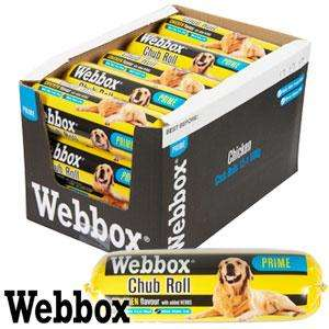 Webbox Prime Chicken/Beef Chub Rolls (Case of 15 x 800g) £7.35 Can also get in-store for 49p each @ Homebargains