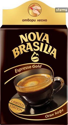 NOVA BRASILIA ESPRESSO GOLD Coffee  200g   - 59p INSTORE @ B&M Stores