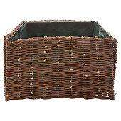 Willow planter 50x50x30cm was £9 now £4.50 del to store @ Tesco (others in range also half price)