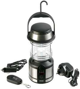 Vango 12 LED Rechargeable Lantern (with remote control) Camping Lantern - Silver-£15.95 @ Amazon