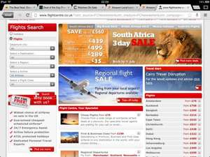 3 day sale flights to south africa from £499 @ flight centre
