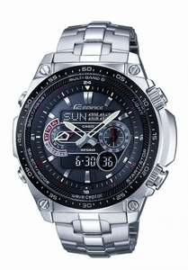 Casio Solar Powered Radio Controlled Watch ECW-M300EDB-1AER @ Amazon for £125