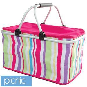 Foldable Picnic Basket/Cool Bag £5.99 @ HomeBargains stores